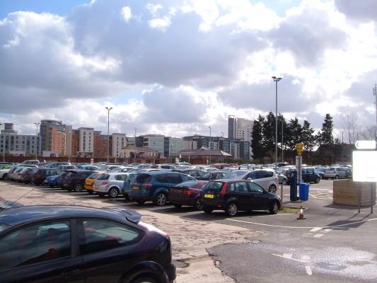 Tetley's car park - 2