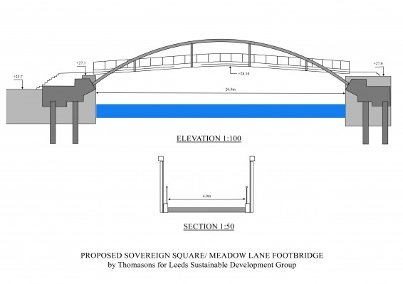 Bridge Elevation and section Jan2016 scheme